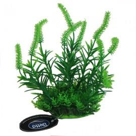 "Betta 8"" Green Plastic Plant - Pack of 2"