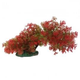 """Betta 9"""" Red & Green Bendy Branch"""